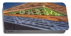 Portable Battery Charger featuring the photograph Nyc West 57 St Pyramid by Susan Candelario