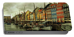 Nyhavn In Copenhagen Portable Battery Charger