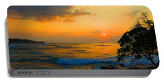 Portable Battery Charger featuring the photograph Oahu Sunset Hawaii by Michael Rucker