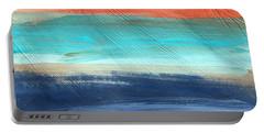 Oak Creek #27 Southwest Landscape Original Fine Art Acrylic On Canvas Portable Battery Charger