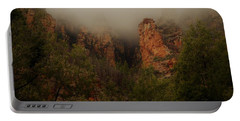 Portable Battery Charger featuring the photograph Oak Creek Canyon Arizona by Broderick Delaney