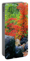 Oak Creek Canyon Red Portable Battery Charger