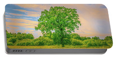 Portable Battery Charger featuring the photograph Oak Gaeddeholm.  by Leif Sohlman