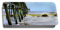 Oak Island Pier Before H.matthew Portable Battery Charger