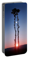 Oak Kissing Portable Battery Charger by Bess Hamiti