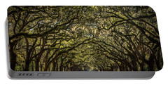 Oak Tree Tunnel Portable Battery Charger