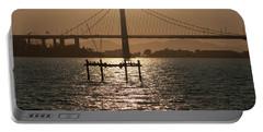 Oakland Bay Bridge II Portable Battery Charger