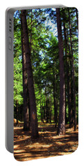 Oakrun Forest Portable Battery Charger by Joyce Dickens