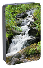 Portable Battery Charger featuring the photograph Oasis Cascade by David Chandler