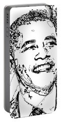 Obama Portable Battery Charger by Rabi Khan