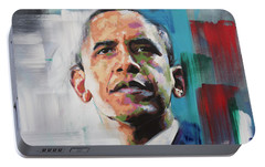 Obama Portable Battery Charger by Richard Day