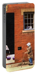 Observing Building Art Portable Battery Charger