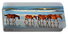 Obx Wild Horses Portable Battery Charger