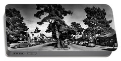Ocean Avenue At Lincoln St - Carmel-by-the-sea, Ca Cirrca 1941 Portable Battery Charger
