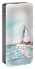 Ocean Blues Portable Battery Charger