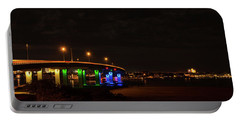 Ocean City Bridge - Lit Up For Orlando Portable Battery Charger