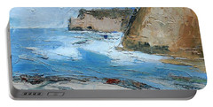 Ocean Cliffs Portable Battery Charger by Gary Coleman