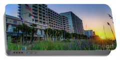 Ocean Drive Sunrise North Myrtle Beach Portable Battery Charger