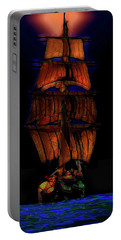Ocean Glow Portable Battery Charger by Michael Cleere