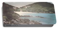 Ocean Inlet Landscape Portable Battery Charger