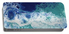 Portable Battery Charger featuring the painting Ocean by Jamie Frier