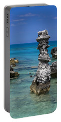 Ocean Rock Formations Portable Battery Charger
