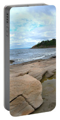 Ocean Rocks - Nova Scotia Portable Battery Charger
