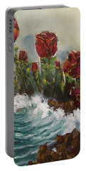 Ocean Rose Portable Battery Charger