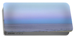 Portable Battery Charger featuring the painting Ocean Sky  by Iconic Images Art Gallery David Pucciarelli