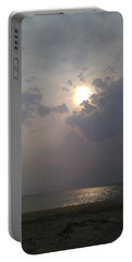 Portable Battery Charger featuring the photograph Ocean Sunrise by Liza Eckardt