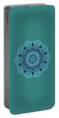 Ocean Swell Abstract Painting By V.kelly Portable Battery Charger