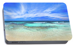 Portable Battery Charger featuring the photograph Ocean Tranquility, Yanchep by Dave Catley