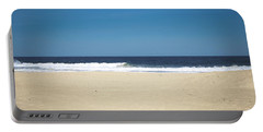 Ocean Waves On The Horizon Portable Battery Charger
