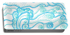 Ocean Waves Portable Battery Charger