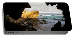 Oceanfront Cave Portable Battery Charger