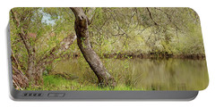 Portable Battery Charger featuring the photograph Oceano Lagoon by Art Block Collections
