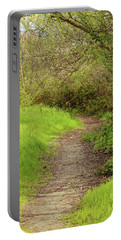 Portable Battery Charger featuring the photograph Oceano Lagoon Trail by Art Block Collections