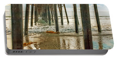 Oceanside - Low Tide Under The Pier Portable Battery Charger