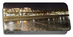 Oceanside Night Portable Battery Charger by Suzanne Oesterling
