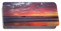 Portable Battery Charger featuring the photograph Oceanside Twilight by John F Tsumas