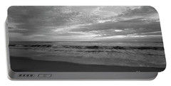 Portable Battery Charger featuring the photograph Oceanside Waves by John F Tsumas