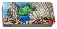Ocellated Frogfish Portable Battery Charger
