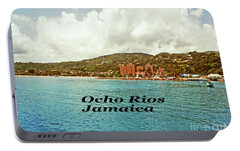 Portable Battery Charger featuring the photograph Ocho Rios Jamaica by Gary Wonning