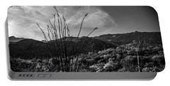 Ocotillo At Sunrise Portable Battery Charger