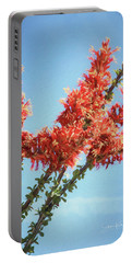Ocotillo In Bloom Portable Battery Charger