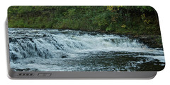 Ocqueoc Falls_9535 Portable Battery Charger by Michael Peychich