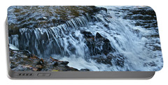 Ocqueoc Falls_9542 Portable Battery Charger by Michael Peychich