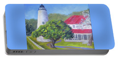 Ocracoke Lighthouse Portable Battery Charger