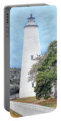 Portable Battery Charger featuring the photograph Ocracoke Lighthouse by Marion Johnson