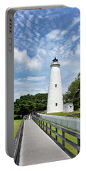Ocracoke Lighthouse - Outer Banks Portable Battery Charger